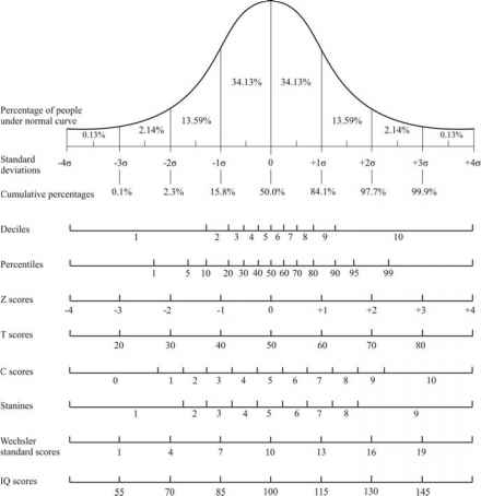 Normal Distribution Performance Level