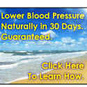 Lower Blood Pressure Drug Free